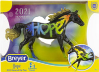 Breyer Horses  2021 Horse of the Year - Hope 1:12 Classic Scale 62121