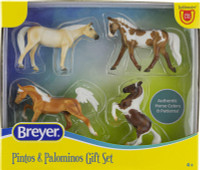 Breyer Horses Pintos & Palominos Gift Set 1:32 Stablemates  Scale 6226