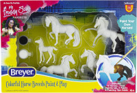 Breyer Activity Horse Crazy Colourful Breeds Paint Kit 1:32 Stablemates Scale 4234