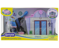Breyer Mane Beauty Li'l Beauties Playset - Shimmer Grooming Salon 7431