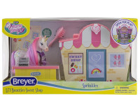 Breyer Mane Beauty Li'l Beauties Playset - Sprinkles Sweet Shop 7432