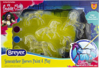 Breyer Horses Suncatcher Horse Paint & Play 1:32 Stablemates Scale 4237