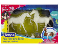 Breyer Horses Paint Your Own Horse Quarter Horse & Saddlebred 4260