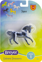 Breyer Horses Unicorn Treasures Single - Topaz Colour 1:32 Stablemates Scale 6928Topaz