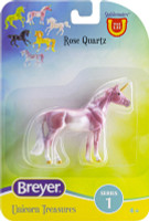 Breyer Horses Unicorn Treasures Single - Rose Quartz Colour 1:32 Stablemates Scale 6928RQ