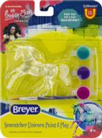 Breyer Suncatcher Running Unicorn Paint and Play Activity 1:32 Stablemates 4231RU