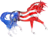 Breyer Horses Old Glory Decorator Model 1:9 Traditional Scale 1845
