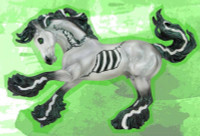 Breyer Horses Thiller - 2021 Halloween Horse 1:9 Traditional Scale 1833