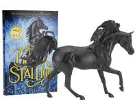Breyer Horses The Black Stallion Horse & Book Set  1:12 Classic Scale 6181