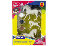 Breyer Horses Horse Family Paint & Play Activity Set 1:32 Stablemates Scale
