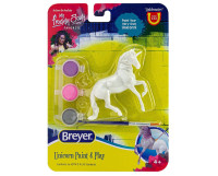 Breyer Rearing Unicorn Paint and Play Activity 1:32 Stablemates 4233R