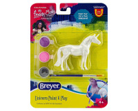 Breyer Standing Unicorn Paint and Play Activity 1:32 Stablemates 4233S