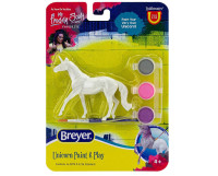 Breyer Walking Unicorn Paint and Play Activity 1:32 Stablemates 4233W