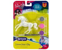 Breyer Running Unicorn Paint and Play Activity 1:32 Stablemates 4233RU
