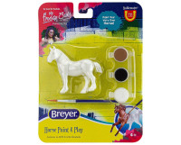 Breyer Draft Horse Paint and Play Activity 1:32 Stablemates 4232D