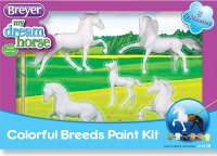 Breyer Horses Horse Crazy Colorful Breeds Paint Kit Stablemates 1:32 Scale 4198