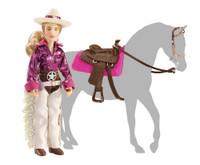 "Breyer Horses Kaitlyn Cowgirl 6"" Figure Classic 1:12 Scale 61053"