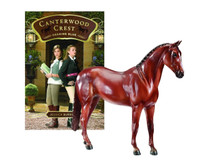 Breyer Horses Canterwood Crest Chasing Blue Horse & Book Set  Classic 1:12 Scale 6171