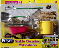 Breyer Horses Stable Cleaning Accessory Set  7 Piece  Classic 1:12 Scale 61074