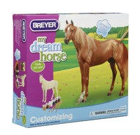 Breyer Horses My Dream Horse Thoroughbred Customizing Paint Activity Kit  Classic 1:12 Scale 4100