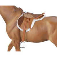 Breyer Horses Devon Hunt Seat Saddle Traditional 1:9 Scale 2464