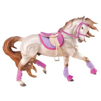 Breyer Horses English Riding Set-Hot Colors Traditional 1:9 Scale 2050