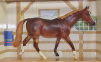 Breyer Horses Ariat Liver Chestnut Limited Edition Classic 1:12 Scale 500107 Artist Susan Carlton Sifton
