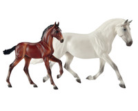 Breyer Horses Fantasia Del C and Gozosa PRE Mare & Foal Traditional 1:9 Scale 1777