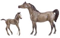 BREYER MODEL HORSES Arabian Horse & Foal 1:12 Classic Scale 62047