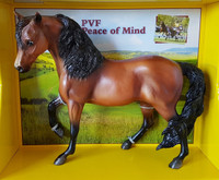 Breyer Horses PVF Peace of Mind Combined Driving Champion Traditional  1:9 Scale  1786