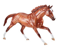 Breyer Horses California Chrome Two Time Horse of the Year  1:9 Traditional  Scale 1792