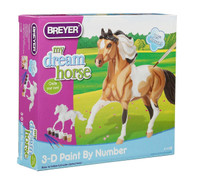 Breyer Horses Classic My Dream Horse - 3D Paint-by-Number Activity Kit 1:12 Scale 4116