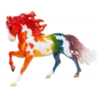 Breyer Horses Prism Rainbow Pinto Decorator Horse 1:9 Traditional Scale  1801