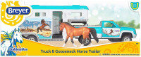 Breyer Horses Truck & Gooseneck Horse Trailer 1:32 Stablemates Scale 6046