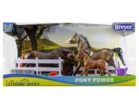 Breyer Horses Pony Power Welsh Ponies 1:12 Classic Scale  62200