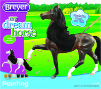 Breyer Horse Painting Activity Kit,  Horse Has Brushable Mane & Tail 4218