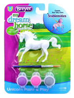 Breyer Horses Unicorn Paint & Play Activity Type B 1:32 Stablemates Scale