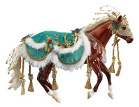 Breyer Horses Minstrel 2019 Christmas Horse Traditional 1:9 Scale 700122