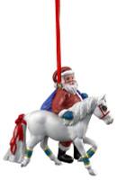 Breyer Horses Santa Pony for Christmas Ornament 700652