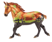 Breyer Horses Samhain 2019 Glow In The Dark Halloween Horse Traditional 1:9 Scale 1814