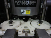 Krones 16 Head Rotary Labeler