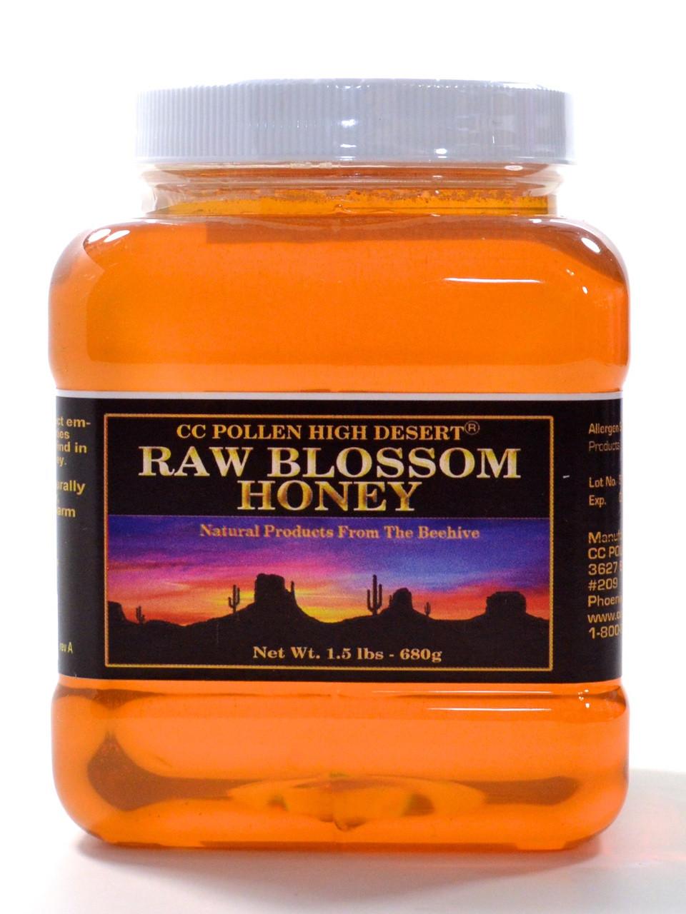 Raw Blossom Honey 1 5 lb Jar
