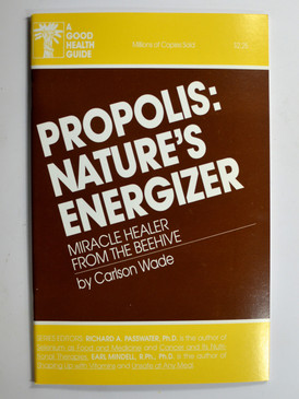 Propolis Nature's Energizer by Carlson Wade