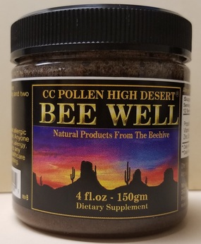 All New Bee Well Liquid 4 fl oz Jar