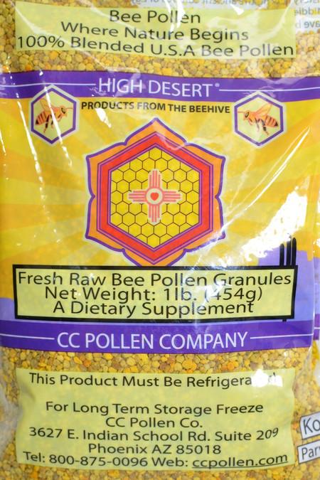 Pollen Granules 1lb Bag