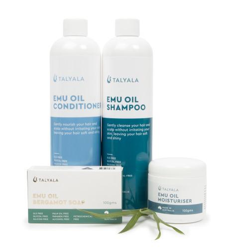 Special: 100g Moisturiser, Shampoo, Conditioner & Soap