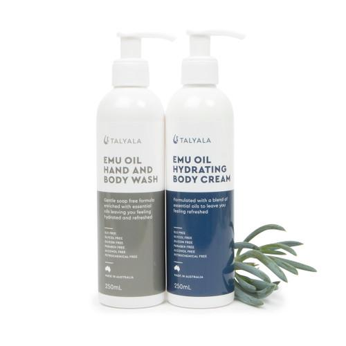 Pack Eight: Body Wash & Hydrating Body Cream