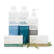 Shampoo, Conditioner, Body Wash, 2 x Soap
