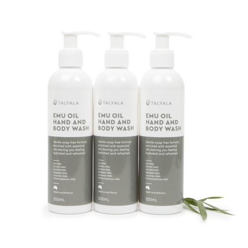 Special: 3 x 250ml Emu Oil Hand & Body Wash