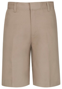 Boys Flat Front Twill Shorts